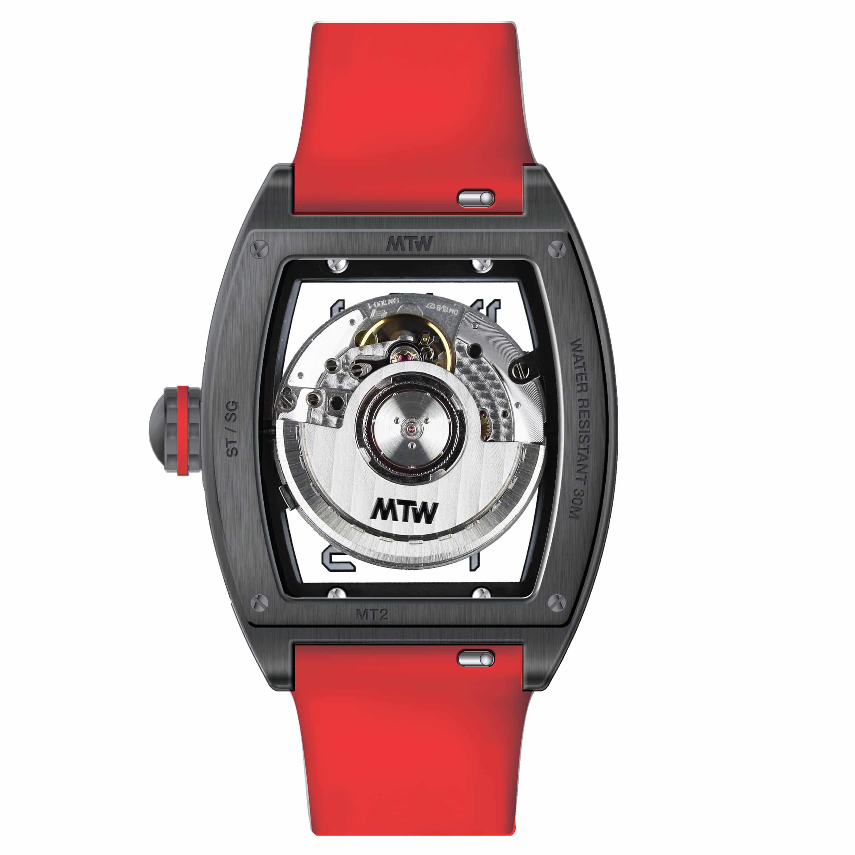 mt2 rs acier rouge