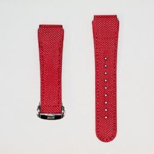 bracelet nylon mtw rouge